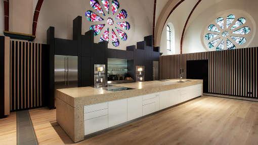 Klosterkirche Hennef Hochzeit Location Kueche