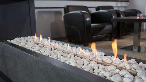 Osmab Lounge Hochzeit Location Raum Detail Feuer